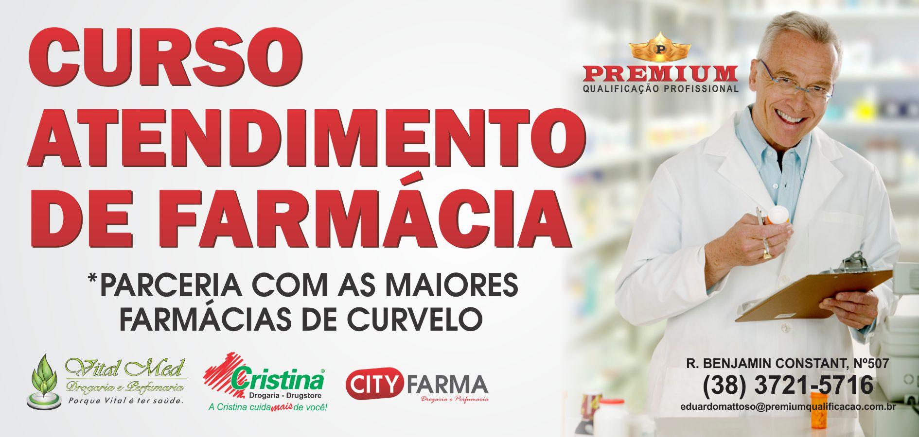 Cursos de farmacia curso profissionalizante de atendente for Curso de diseno de interiores en linea