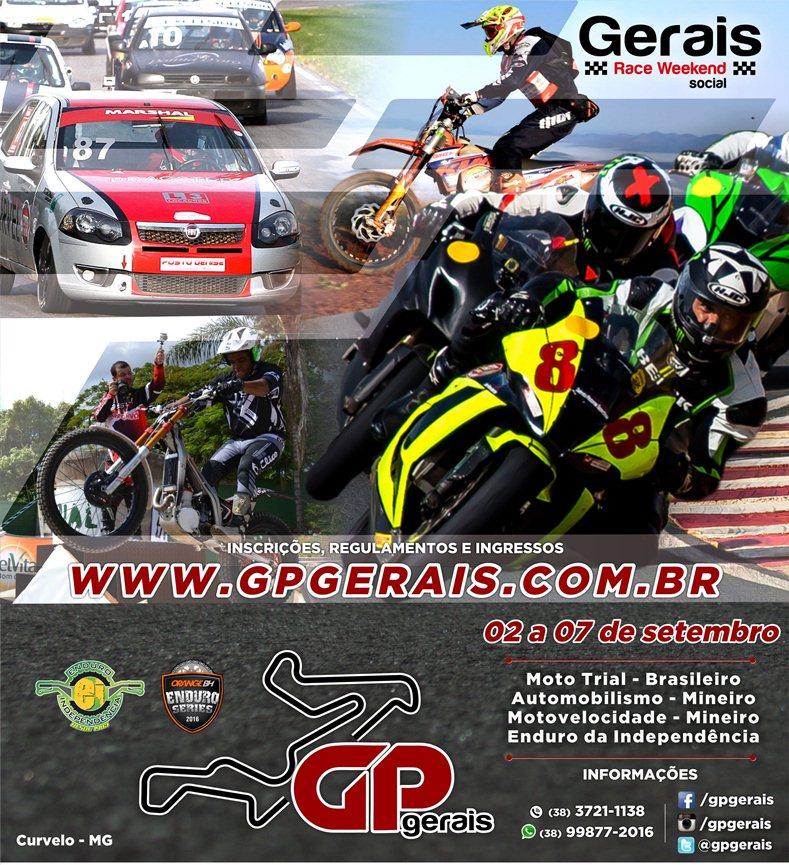 1a. etapa GP Gerais - Divulgação - Y.Sports