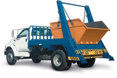 Caminhão para remoção de entulho