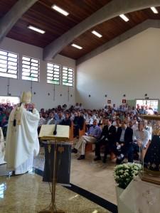 Missa de inauguração do INSTITUTO CONVÍVIO - Foto: Karla Araújo